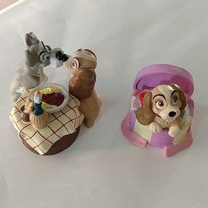 Disney plastic figurines